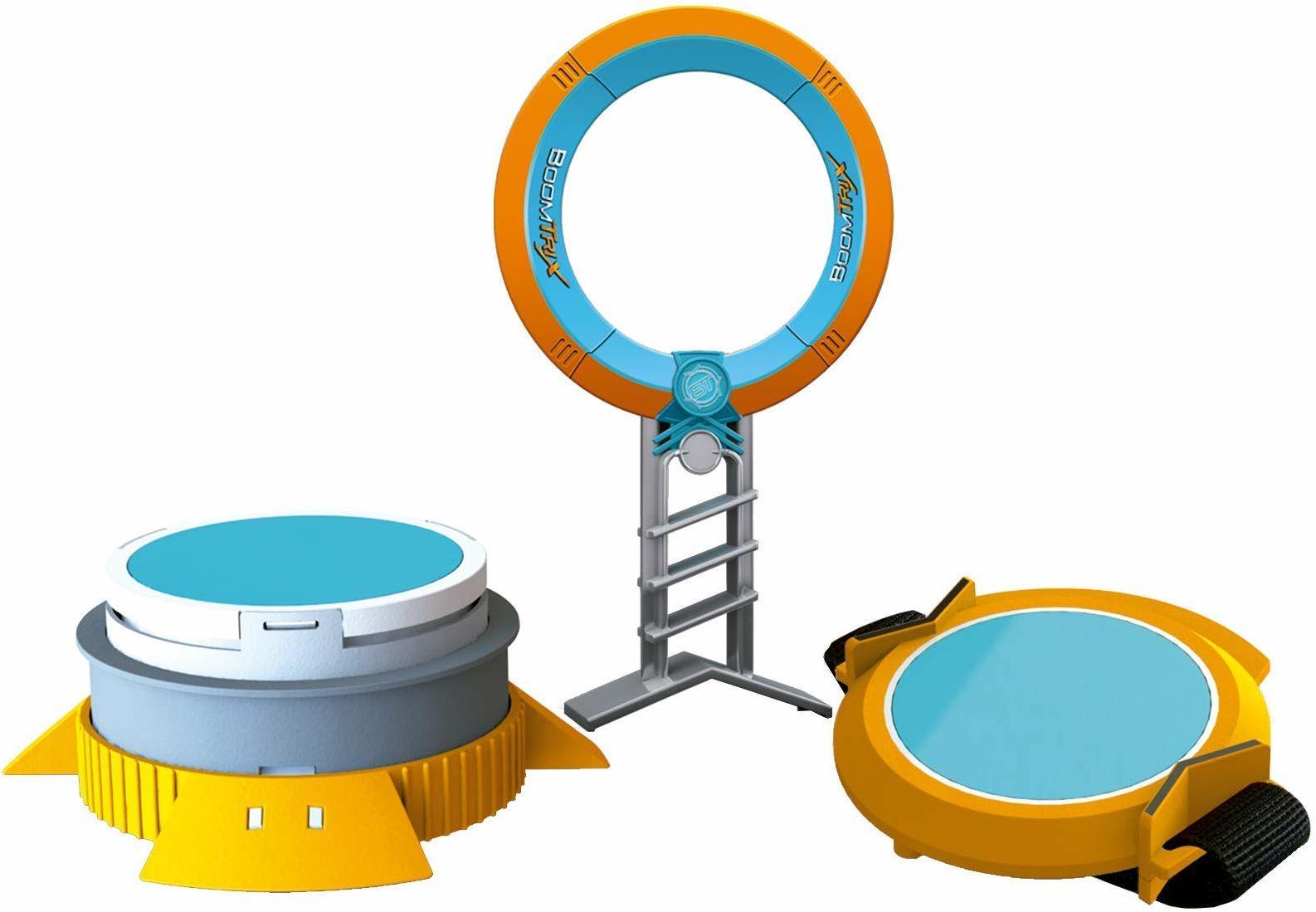 Goliath Toys Goliath-Boom Trix Stunt Pack-Xtreme trampolina dla dzieci od 8 lat, wielokolorowa