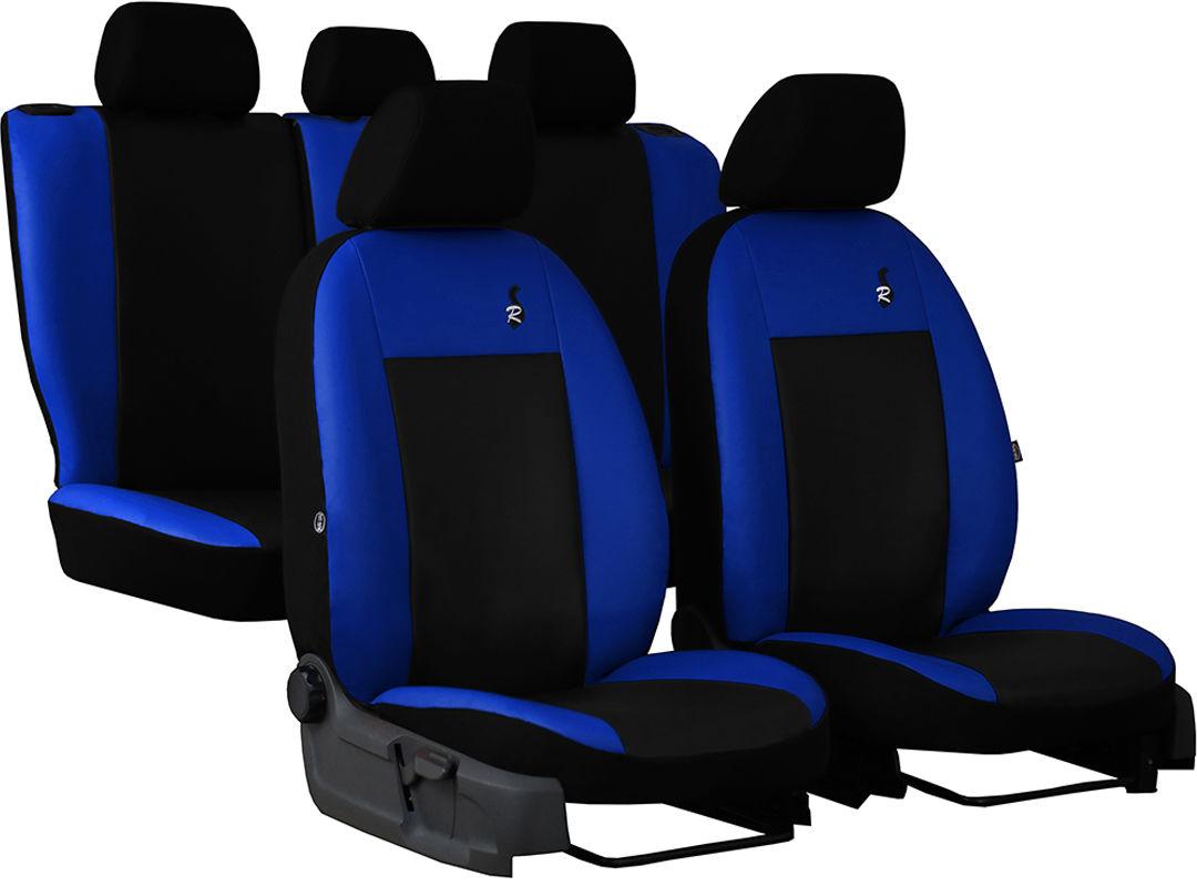Pokrowce samochodowe do Ford Fusion van, Road, kolor niebieski