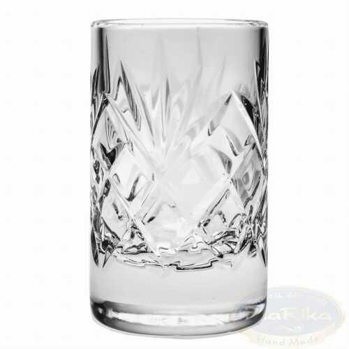 Kryształowe kieliszki do wódki 30ml Ananas 6 sztuk