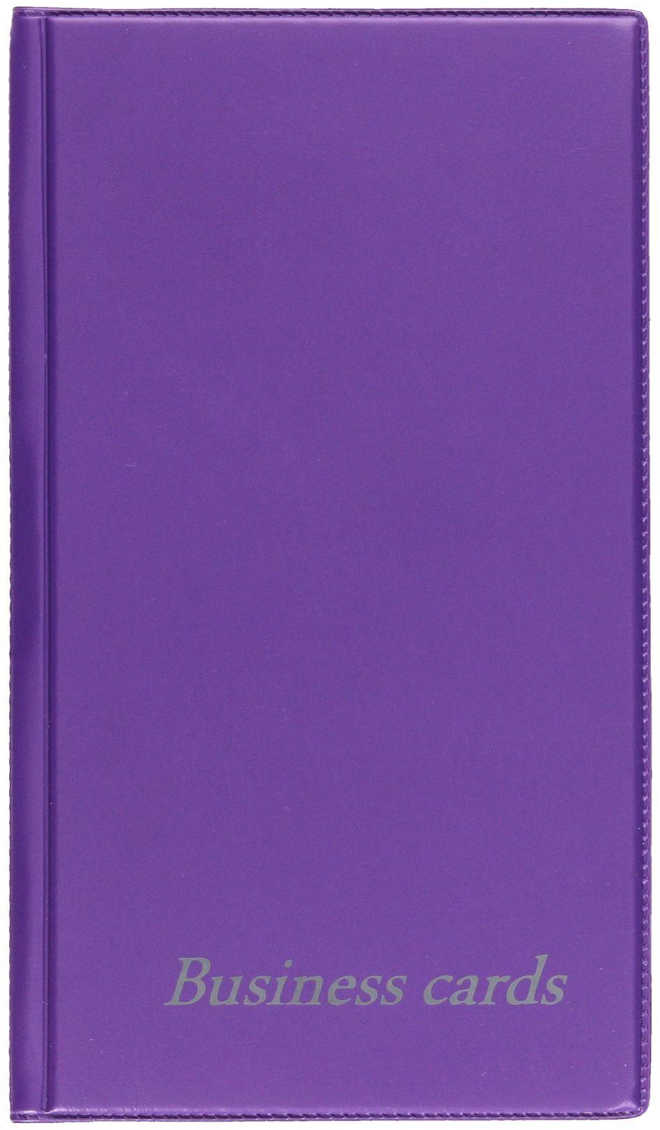 Wizytownik 48w fiolet Violet Biurfol KWI-11
