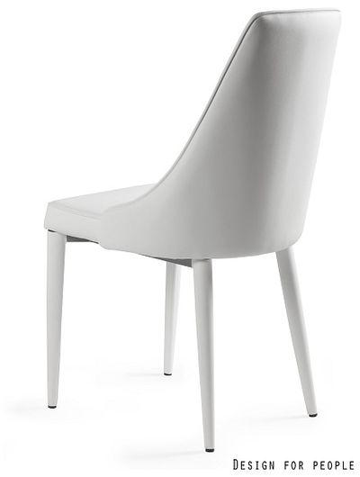 UNIQUE Krzesło Setina - Białe