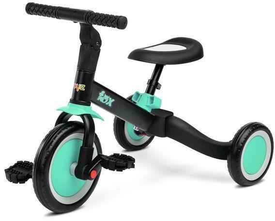 Wielofunkcyjny rowerek FOX 2W1 TURQUOISE