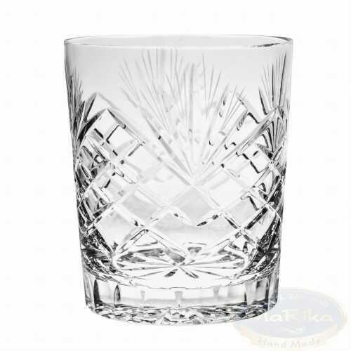 Kryształowe szklanki do whisky 280ml Ananas 6 sztuk