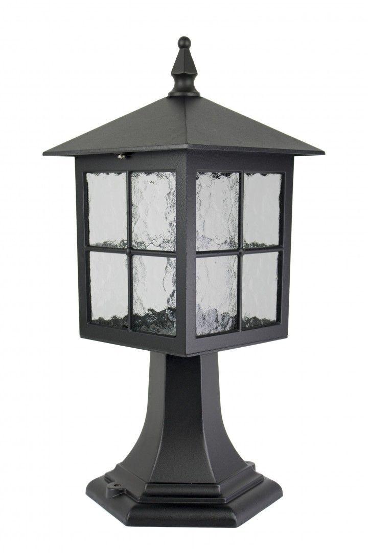 SU-MA Wenecja K 4011/1/KW lampa stojąca czarna E27 IP43 45cm