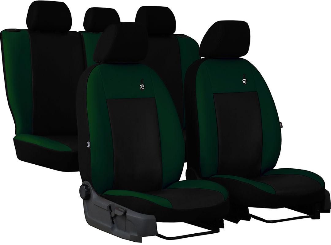 Pokrowce samochodowe do Ford Fusion van, Road, kolor zielony