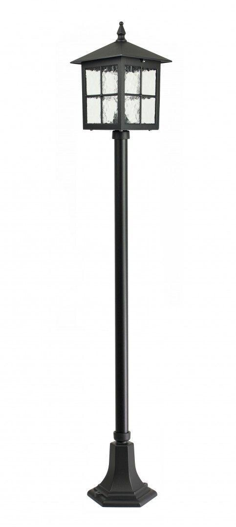 SU-MA Wenecja K 5002/1/KW lampa stojąca czarna E27 IP43 156cm