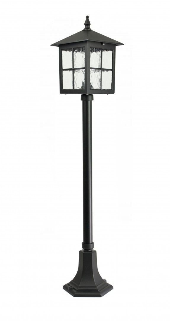 SU-MA Wenecja K 5002/2/KW lampa stojąca czarna E27 IP43 106cm