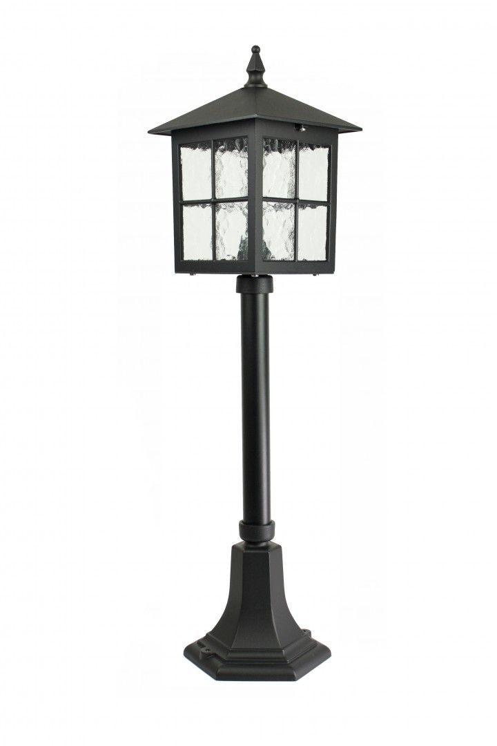 SU-MA Wenecja K 5002/3/KW lampa stojąca czarna E27 IP43 76cm