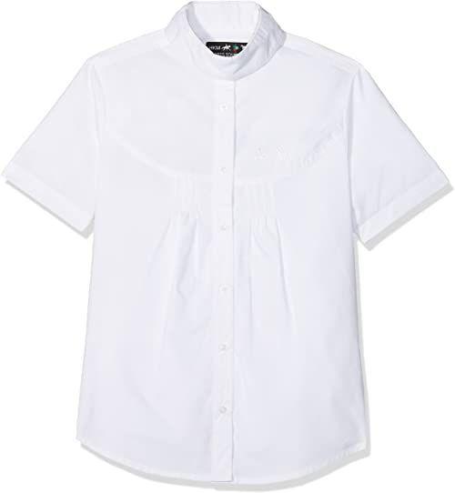 HKM Damska bluzka jeździecka -Easy Bluzka, biała, M