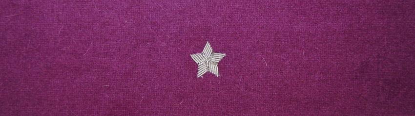 Otok fioletowy do rogatywki Wojska Polskiego - chorąży / major (MIL2350) SR
