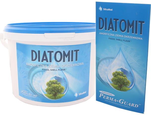 Ziemia okrzemkowa Diatomit - SilicaMed Perma-Guard - 1000g