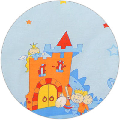 MAMO-TATO Poduszka dla ciężarnych kobiet Zamek błękitny - WYPRZEDAŻ