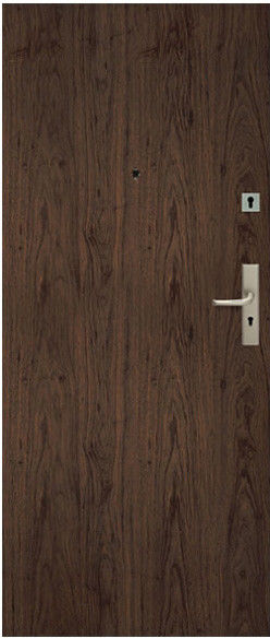 Drzwi wewnątrzklatkowe Dominos 80 lewe orzech naturalny
