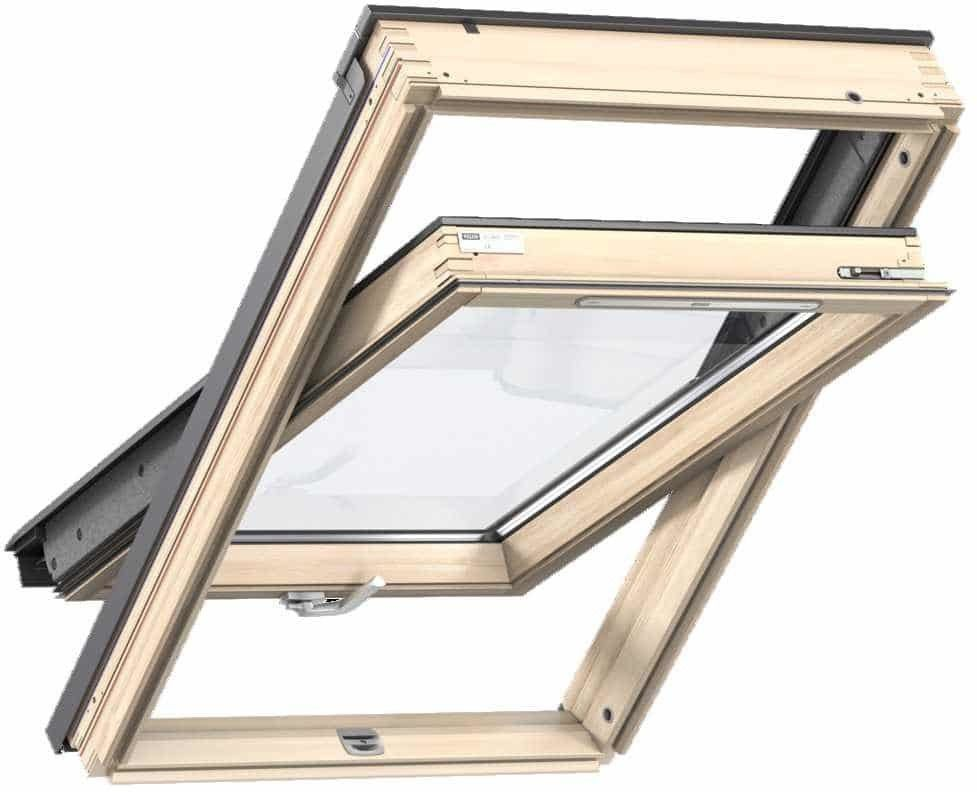 Okno obrotowe 3-szybowe GLL 1064B VELUX z dolnym otwieraniem