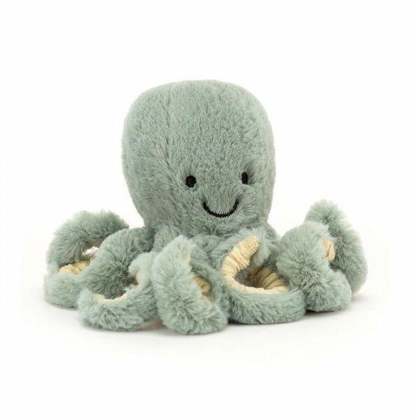 JellyCat - Odyssey Octopus Baby - Ośmiorniczka Odyssey 14x7 cm