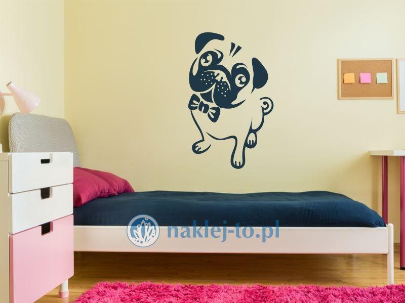 Pies naklejka na ścianę