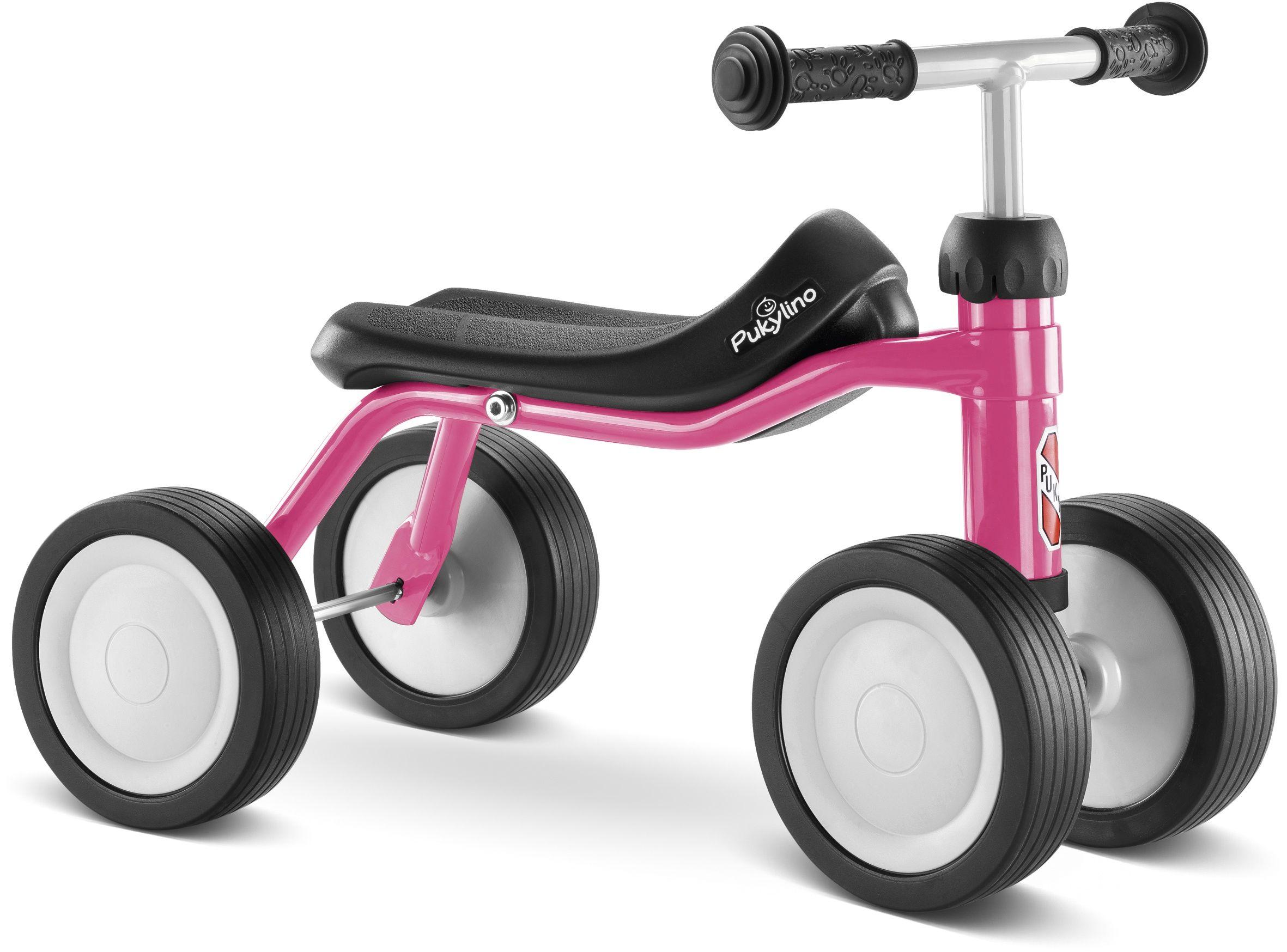 Rowerek biegowy PUKY PUKYLINO /różowy/