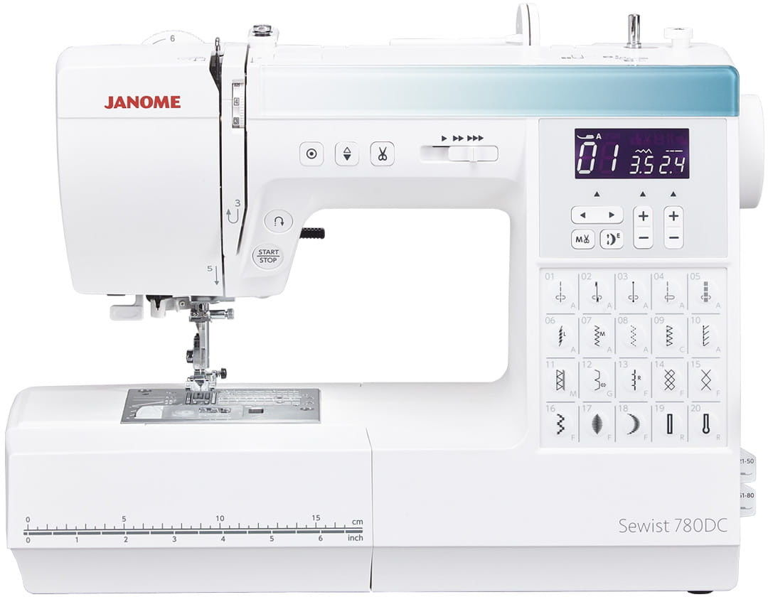 Maszyna do szycia JANOME 780DC + GRATIS nici + szpulki