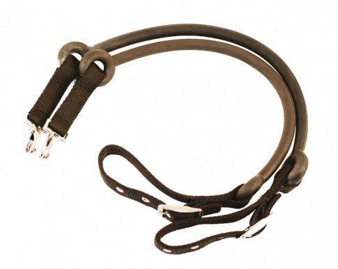 Wypinacze z długą gumą - Mustang - brązowe