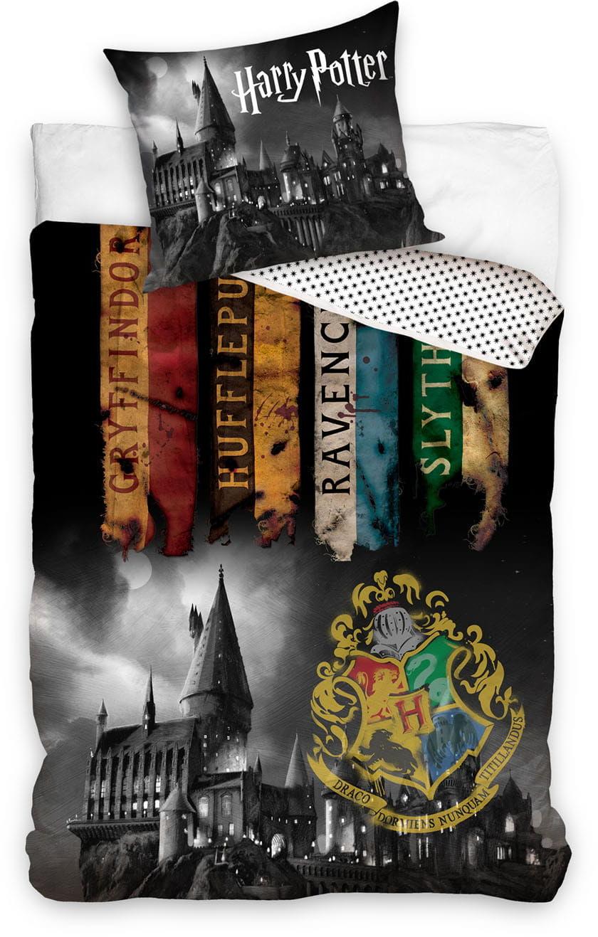 Pościel Harry Potter 160x200 licencyjna bawełniana