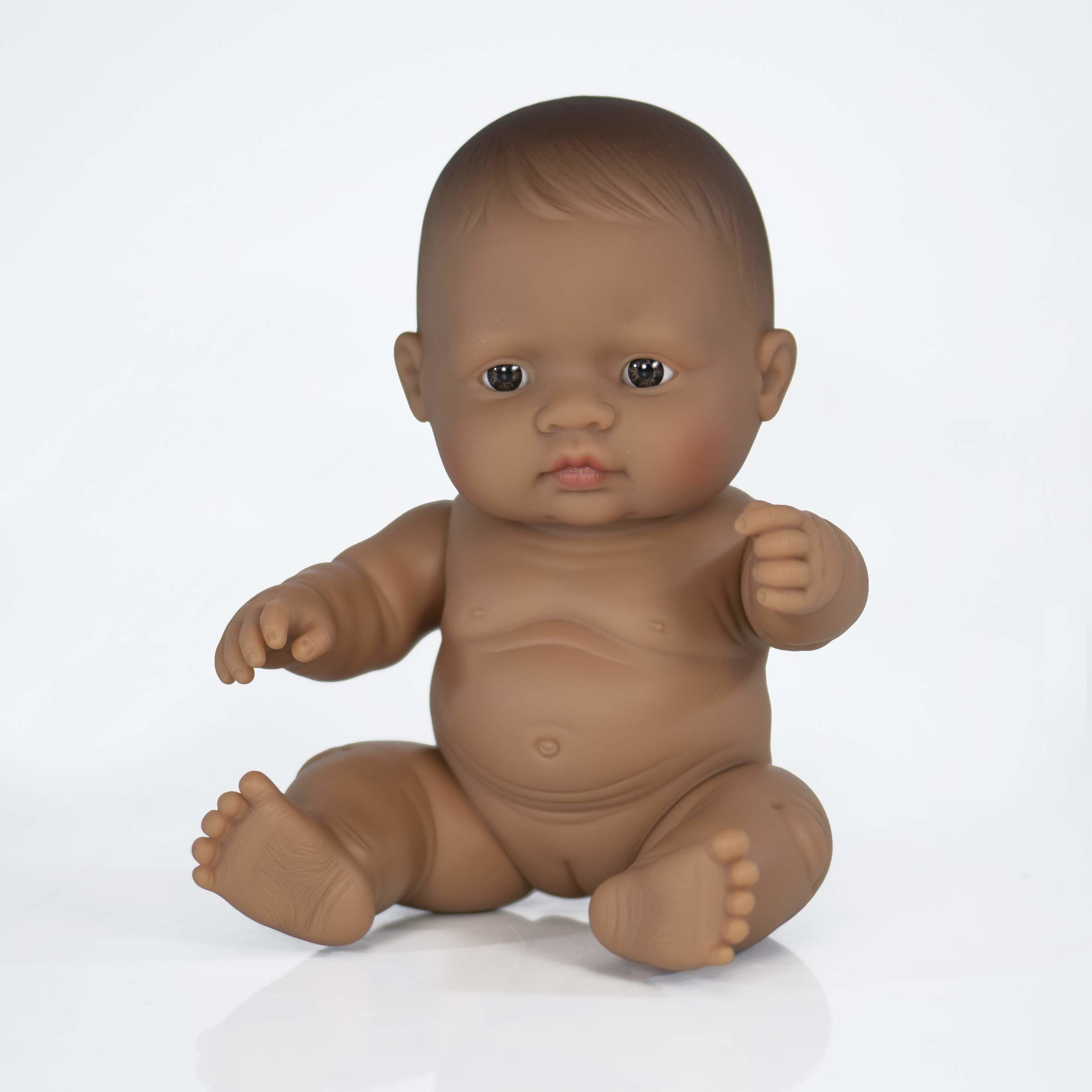 Miniland Miniland31148 lalka dziecięca Hiszpaniczna torba foliowa, wielokolorowa