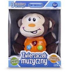 Maskotka Zwierzaczek muzyczny - Małpka E-Edu