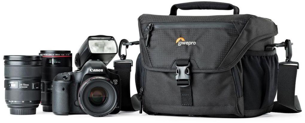 Torba fotograficzna Lowepro Nova 180 AW II Czarna - WYSYŁKA W 24H