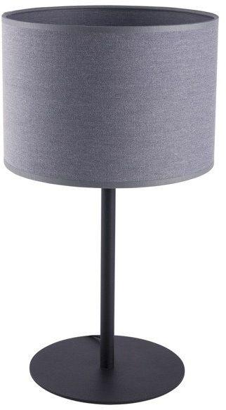 Lampa stołowa nowoczesna z abażurem ALICE szary