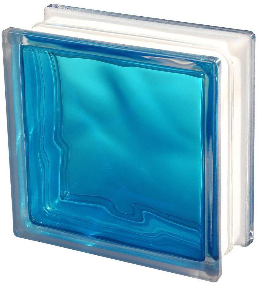 Pustak szklany 1908/WBB Niebieski VITROLAND