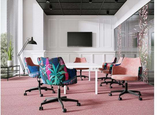 Krzesło obrotowe glam z regulacją