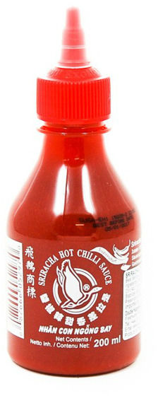 Sos chili Sriracha, piekielnie ostry (chili 70%) 200ml - Flying Goose