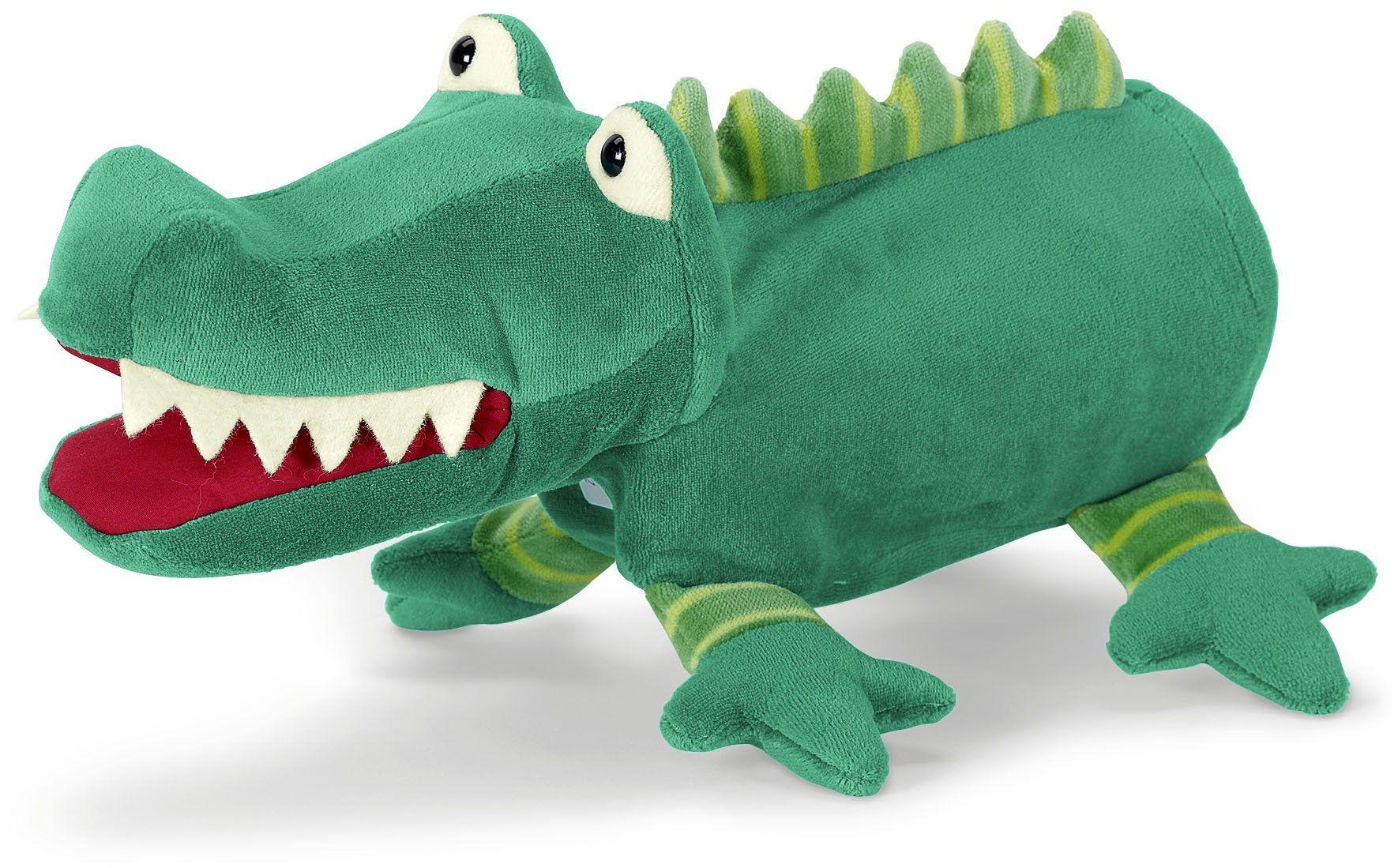 Sterntaler Ręczna laleczka krokodyl 22 x 30 x 10 cm, zielona