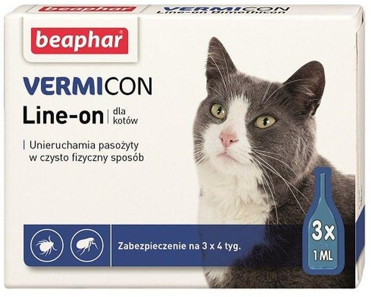 Beaphar Vermicon krople na kleszcze dla kota