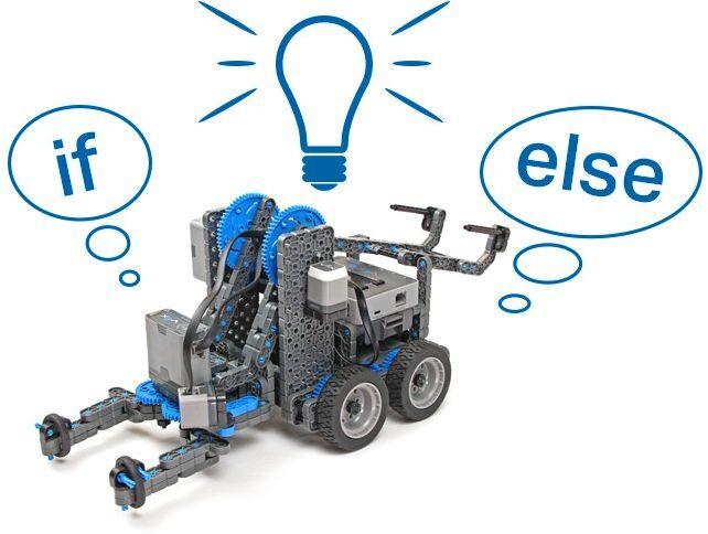 Robot VEX IQ super kit