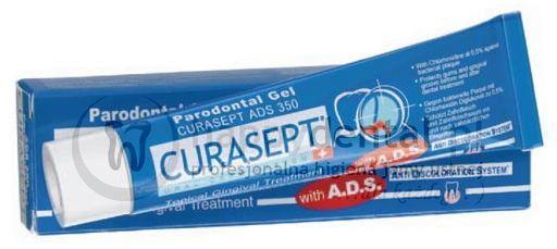 CURASEPT ADS 350 30ml - żel do miejscowego leczenia dziąseł z chlorheksydyną 0.50%