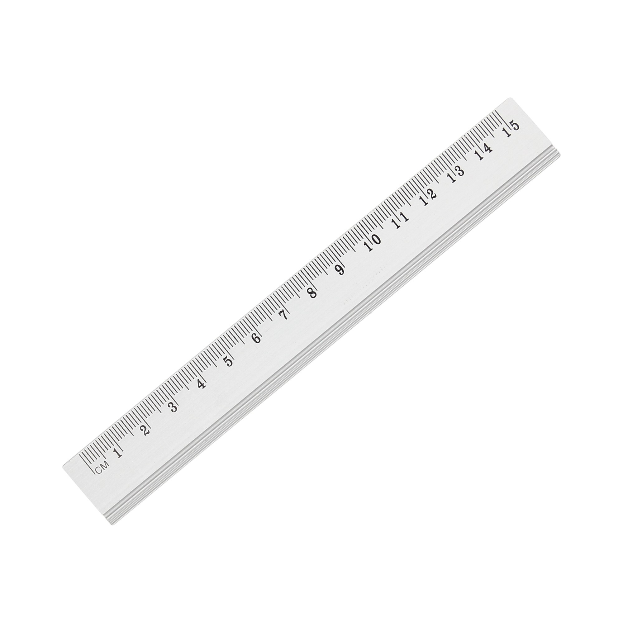 Linijka 15cm aluminium KwTrade GR120-15