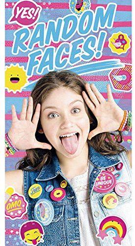 Kids Licensing  wd18142  ręcznik plażowy  Soy Illustrated O Soy Luna  RANDOM Face