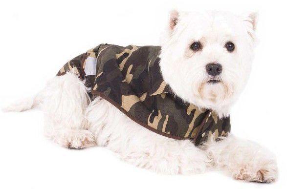 Ubranko dla psa - kamuflaż - rozmiar XS (26 cm)