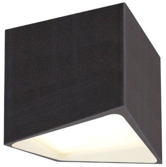 Plafon ETNA C0144 Maxlight czarna oprawa sufitowa w nowoczesnym stylu
