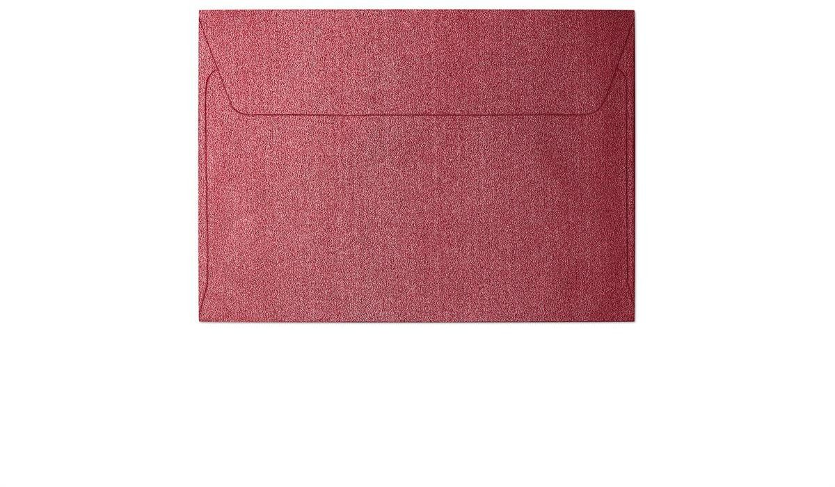 Koperta Pearl czerwony C6 10 sztuk w opakowaniu Argo 280217 Rabaty Porady Hurt Autoryzowana