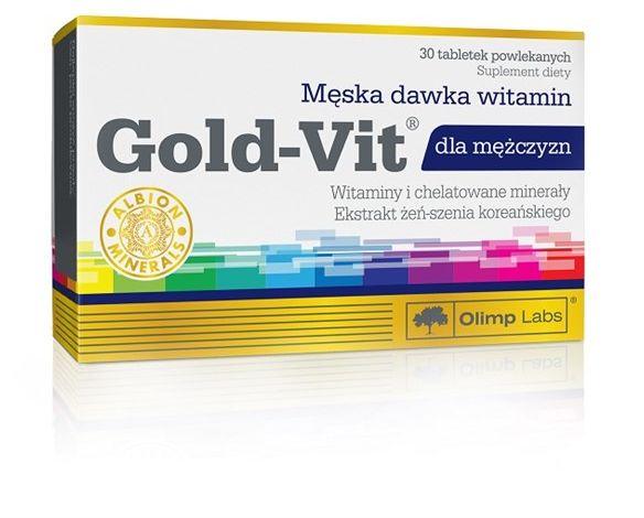 Gold-Vit dla mężczyzn 30tab