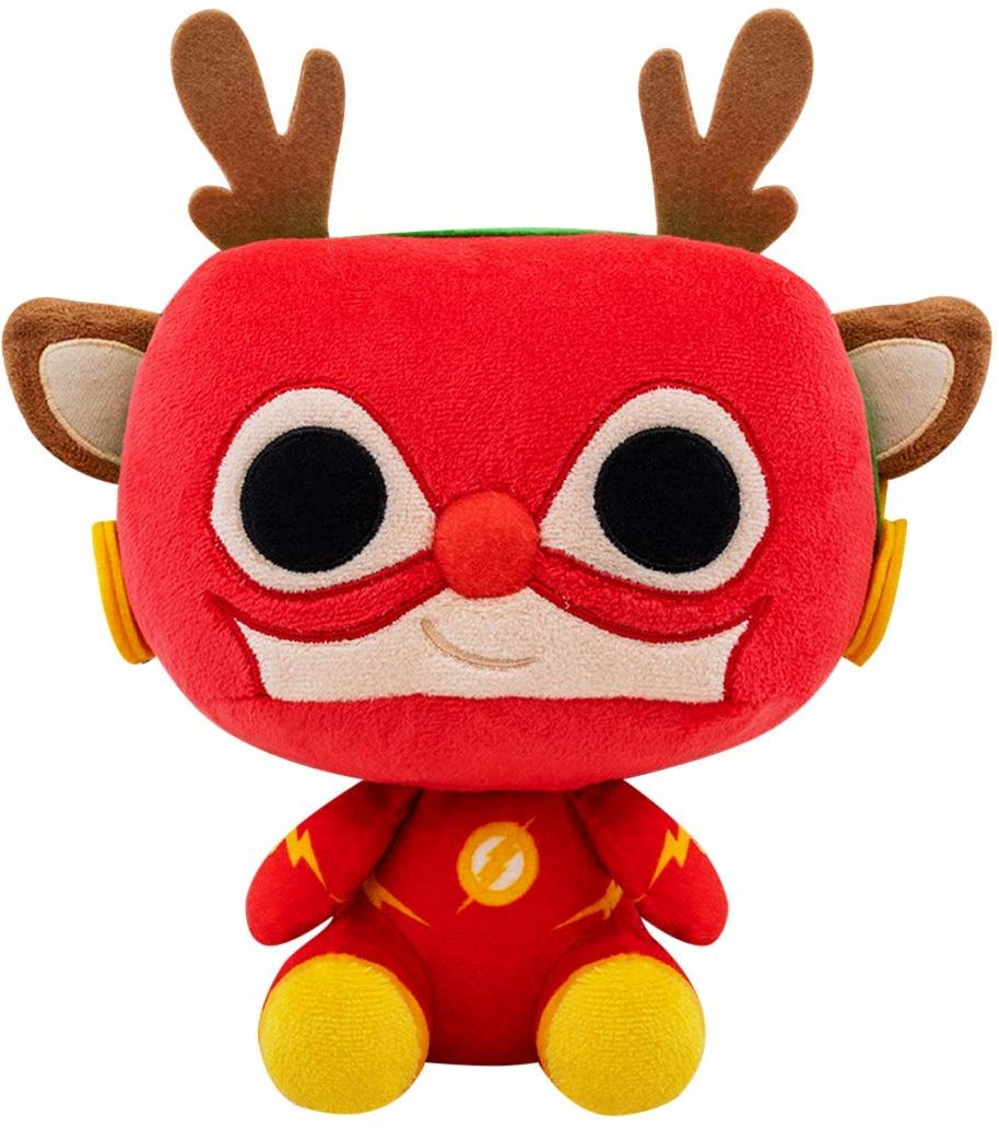 FUNKO POP! PLUSH: DC Holiday- Rudolph Flash