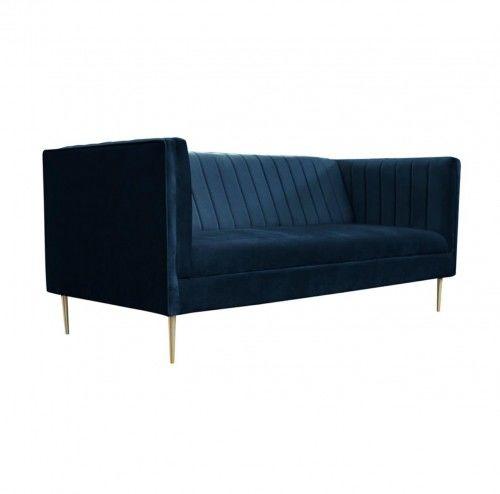 Sofa Parisian Velvet Granatowy