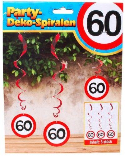 Świderki na 60 urodziny Znak