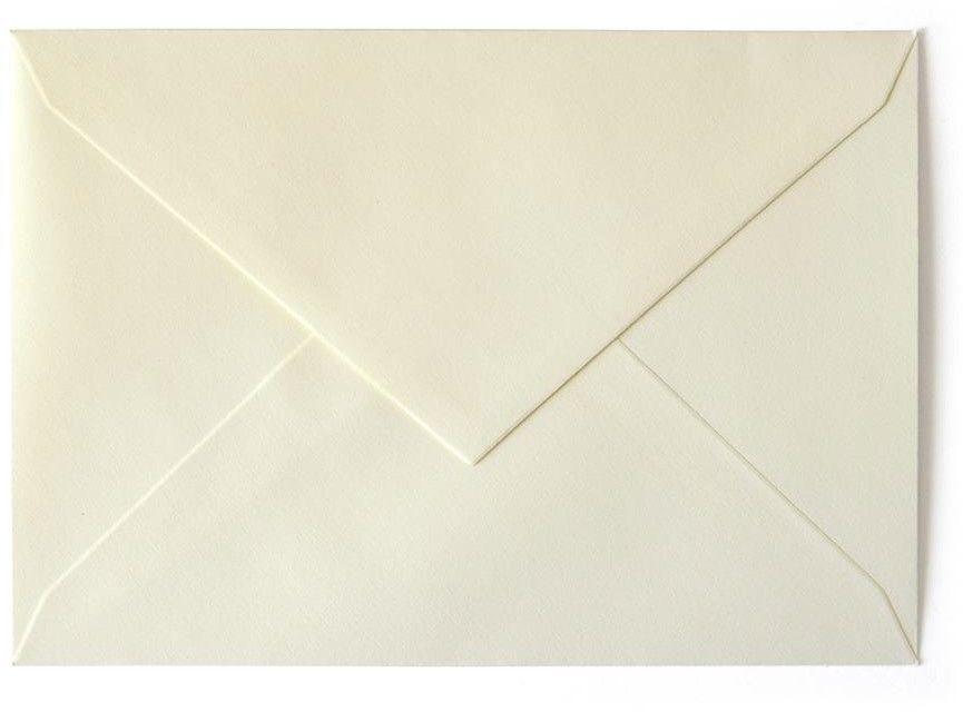 Koperta gładka kolorowa B6 20 sztuk w opakowaniu Argo kremowa Rabaty Porady Hurt Autoryzowana
