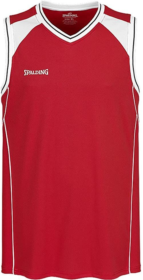 Spalding Crossover Tank Top - red/white XS