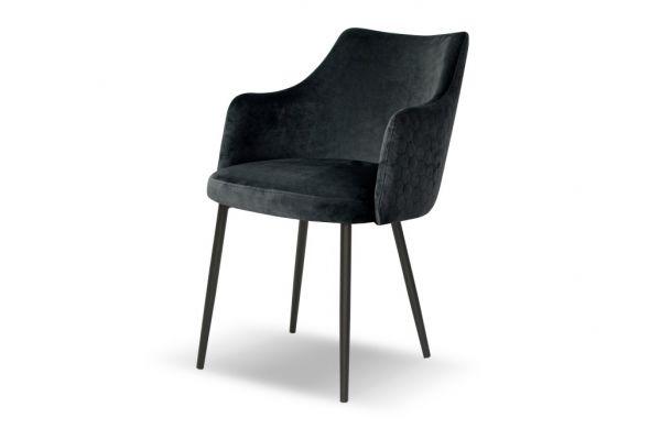 Stylowe krzesło z podłokietnikami