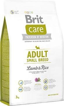 Brit Care Lamb & Rice Jagnięcina Adult Small Breed 3 kg