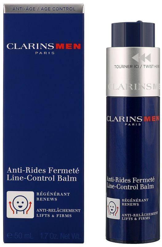Clarins Men Line-Control Balm Przeciwzmarszczkowy balsam ujędrniający do twarzy - 50ml