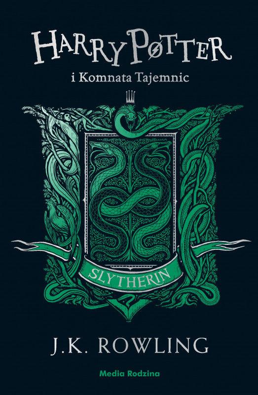 Harry Potter i komnata tajemnic (Slytherin) ZAKŁADKA DO KSIĄŻEK GRATIS DO KAŻDEGO ZAMÓWIENIA